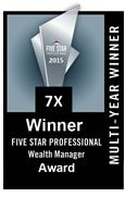 2015 Five Star Professional Wealth Manager Award
